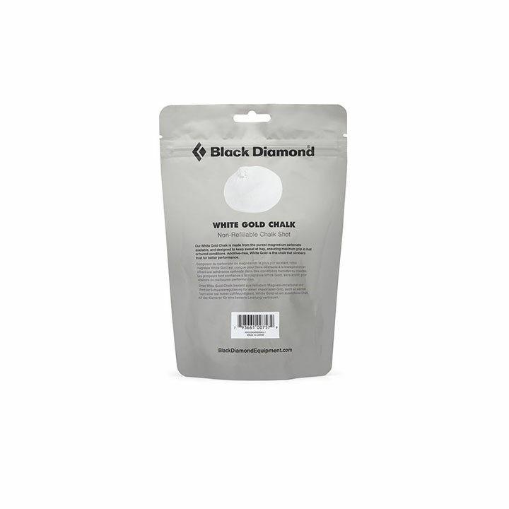 Black Diamond White Gold Pofbal - Monkshop