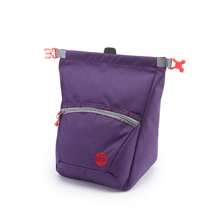 Moon Bouldering Chalk Bag Blackberry - monkshop