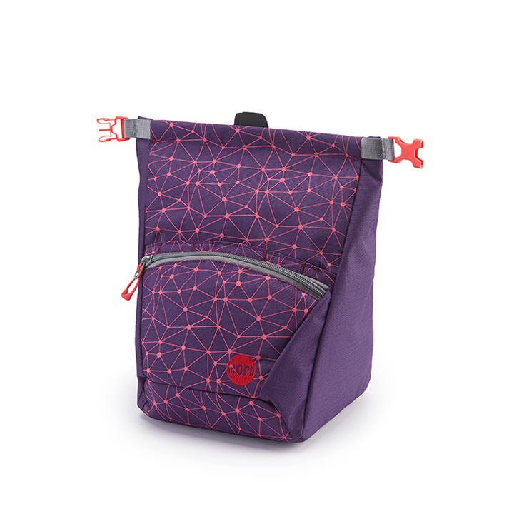 Moon Bouldering Chalk Bag Galaxy Blackberry / Fuscia - monkshop