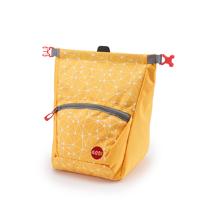 Moon Bouldering Chalk Bag Galaxy Saffron / White - monkshop