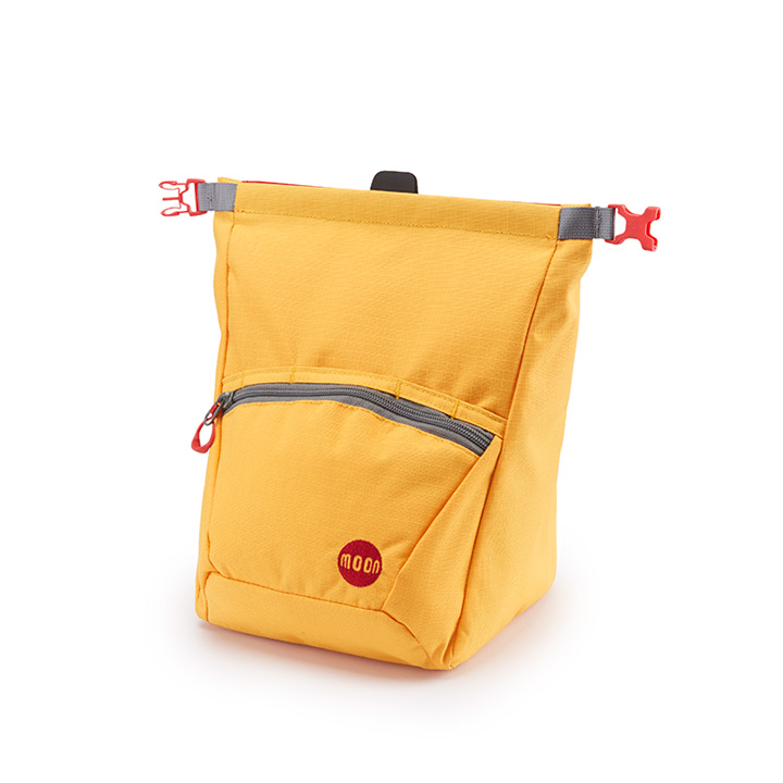 Moon Bouldering Chalk Bag Saffron - monkshop