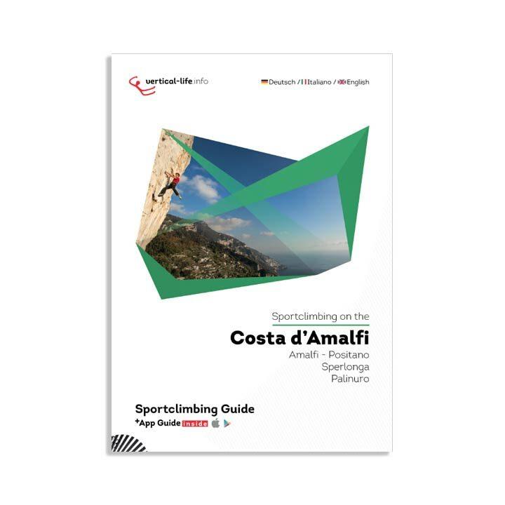 Sportclimbing Costa d'amalfi topo