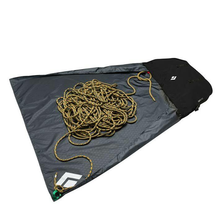 Black diamond superchute rope bag