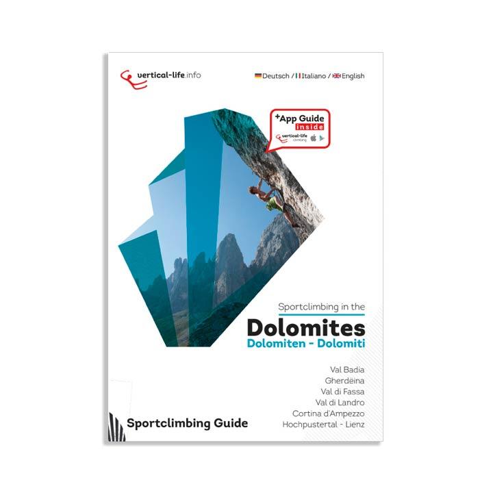 sportclimbing in the dolomites topo