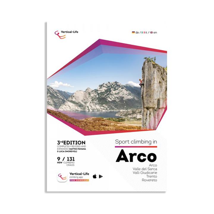 Sportclimbing in Arco Topo 3rd Edition - Monkshop
