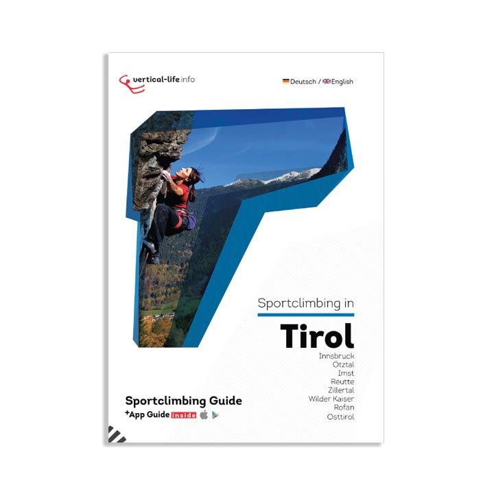 Sportclimbing in tirol topo