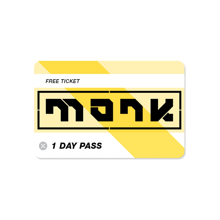 Monk bouldergym day pass - dagkaart