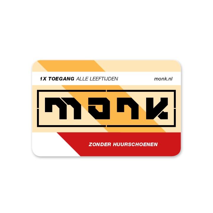 Monk Ticket Toegang Zonder Schoenen - Monkshop