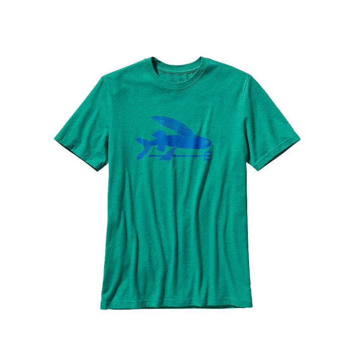 patagonia flying fish tee