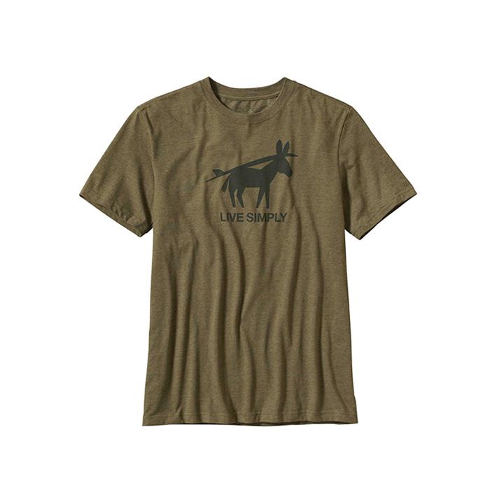 patagonia burros y tablas t-shirt