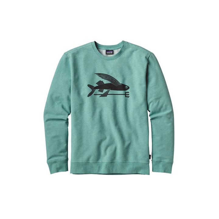 Patagonia Flying Fish Midweight Crew Sweatshirt