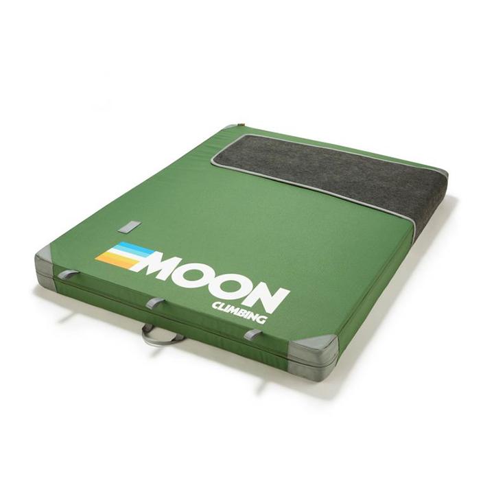 Moon Warrior Crashpad Retro Stripe Green - Monkshop