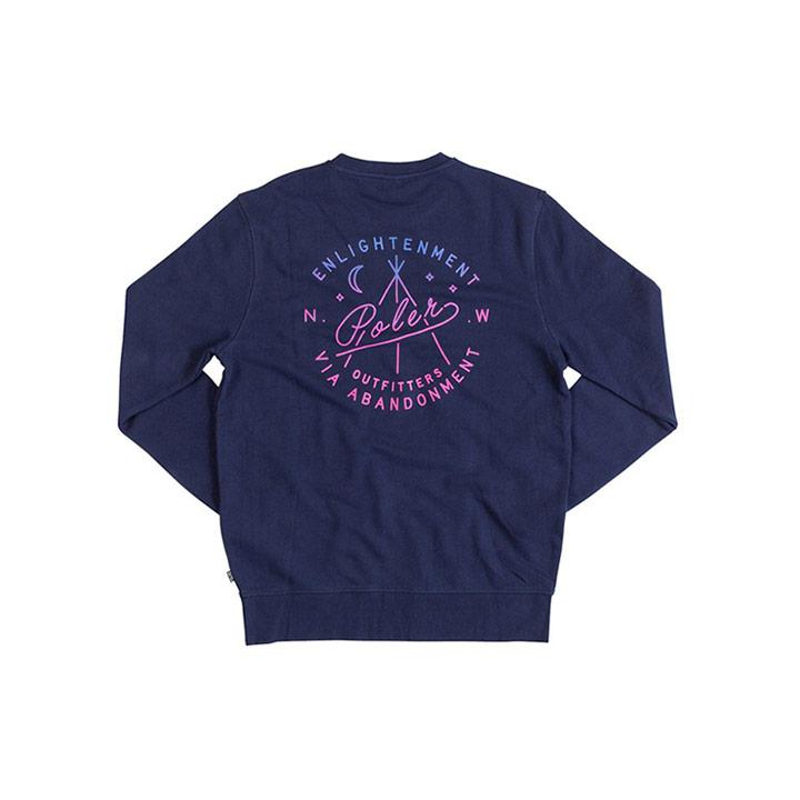 Poler Enlightenment Crewneck Sweater