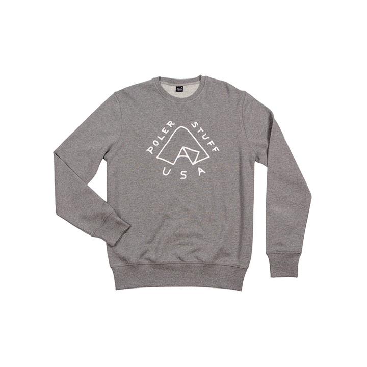 Poler Tent Crewneck Sweater