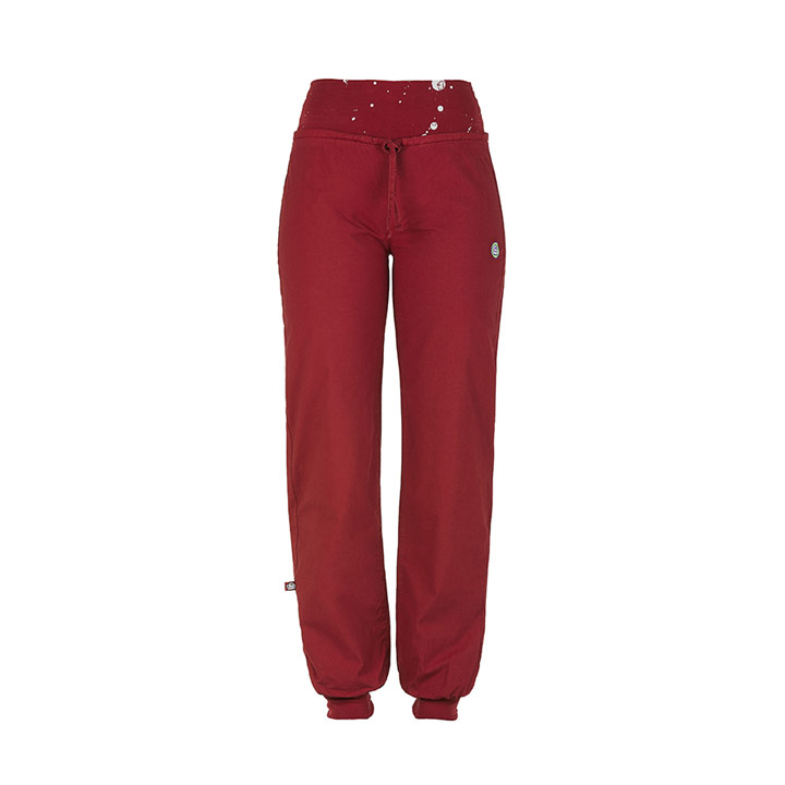 e9 hit pants wms - wine - monkshop