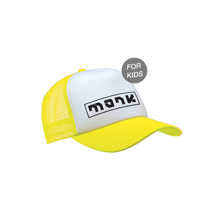 Monk Logo Trucker Hat Kids