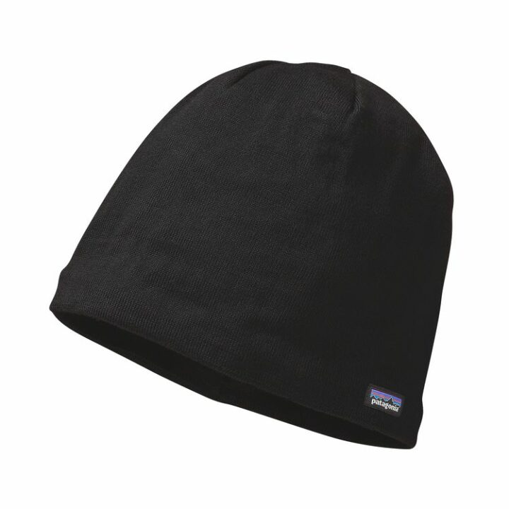 Patagonia Beanie Hat Black - monkshop