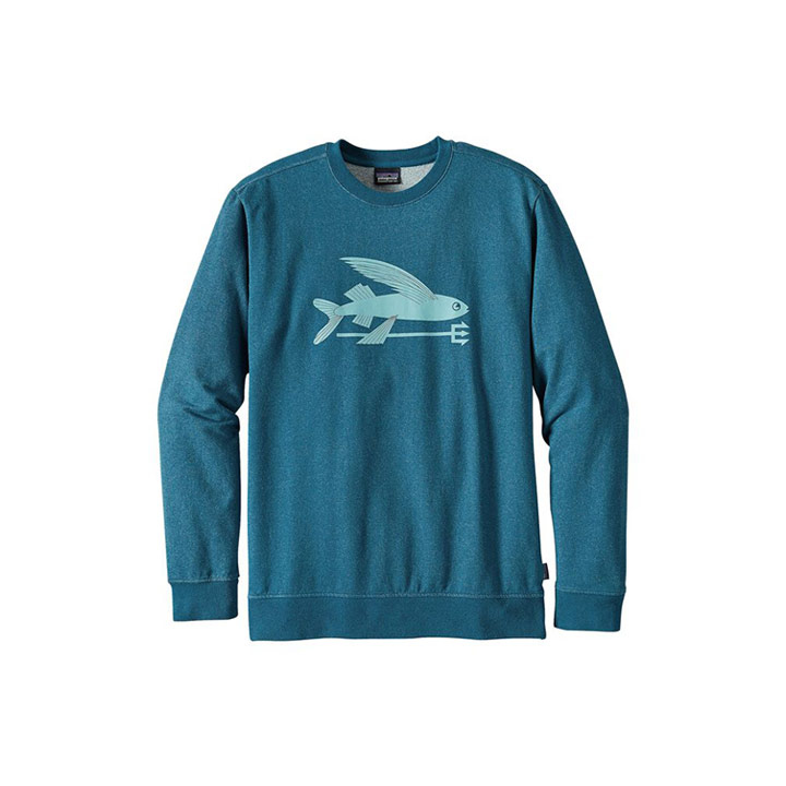 Patagonia Flying Fish MW Crew Sweatshirt - Monkshop
