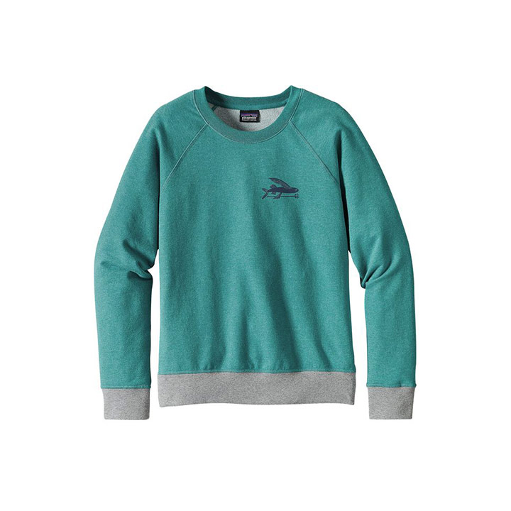 Patagonia Small Flying Fish MW Crew WMS