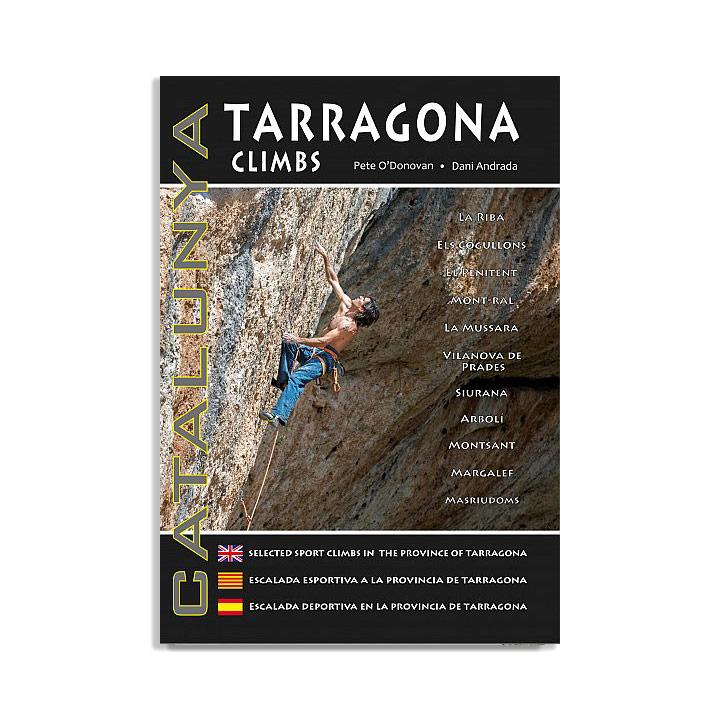 Tarragona Climbs - topo Margalef en Siurana - Monkshop