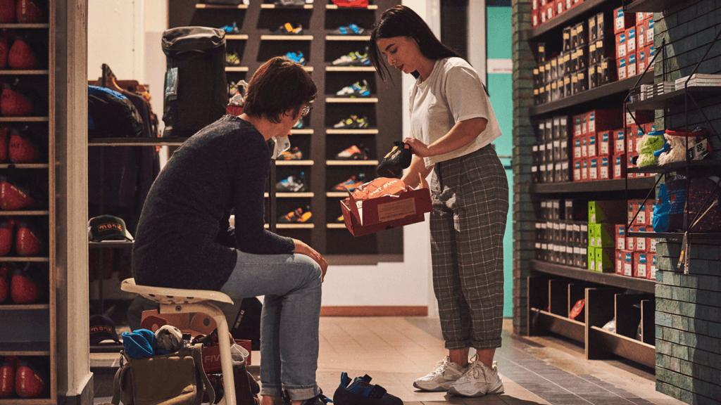 Je eerste paar klimschoenen kopen