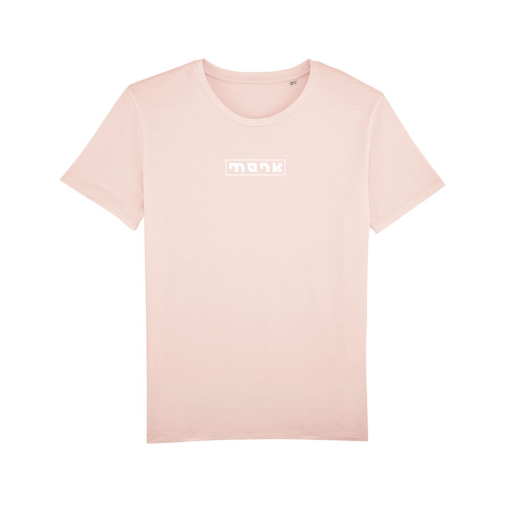 monk logo tee candy pink - monkshop