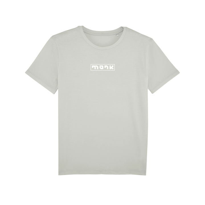 monk logo tee light opaline - monkshop