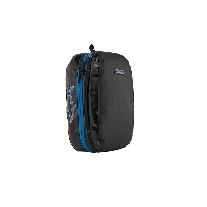Patagonia Black Hole Kube Medium Black With Fitz Trout - Monkshop