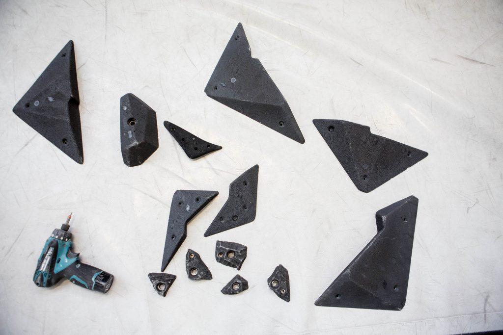 Boulders bouwen in Monk Rotterdam