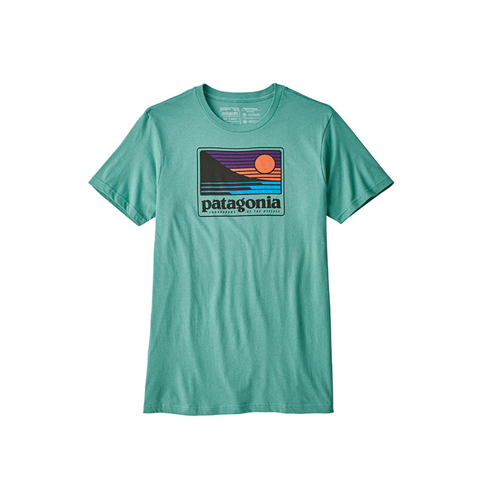 Patagonia Up & Out Organic T-Shirt - Monk