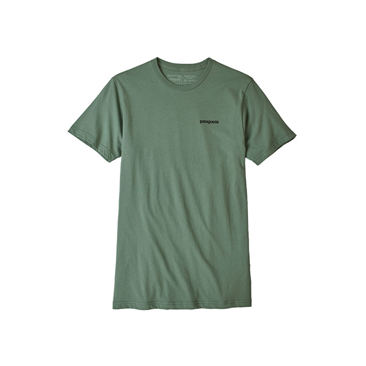 Patagonia P-6 Logo Organic T-shirt - Monkshop