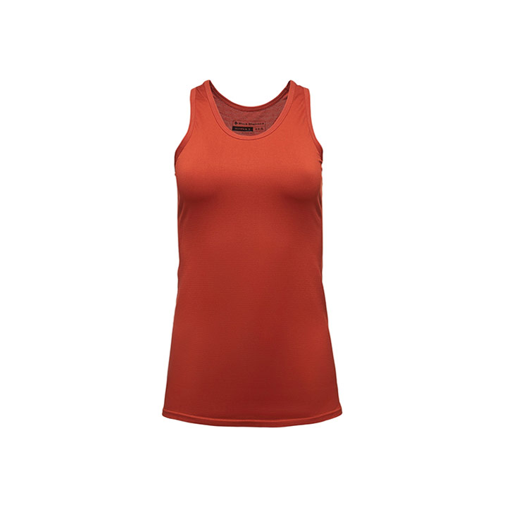 Black Diamond crux tank wms - burnt sienna - monk