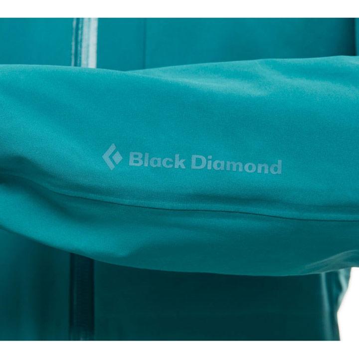 Black Diamond Fineline Stretch Rain Shell WMS