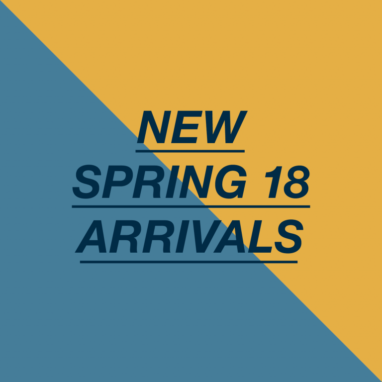 New spring arrivals Spring 2018 - Monkshop