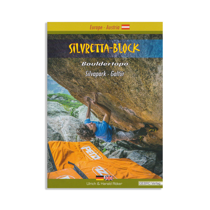 Silvretta Block Bouldertopo - Monkshop