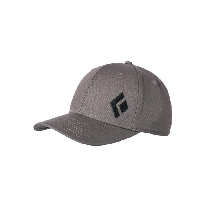 Black Diamond BD Logo Hat Ash - monkshop