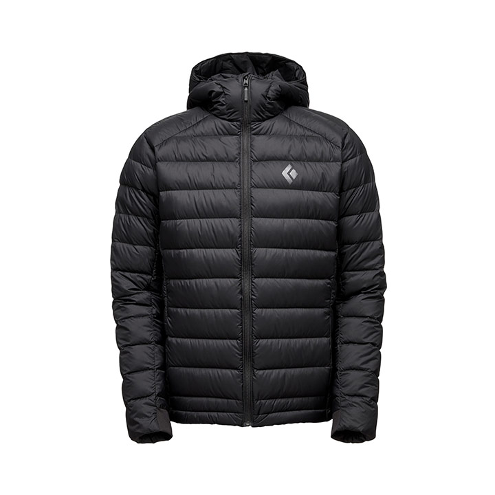 Black Diamond Cold Forge Down Hoody Black - monkshop