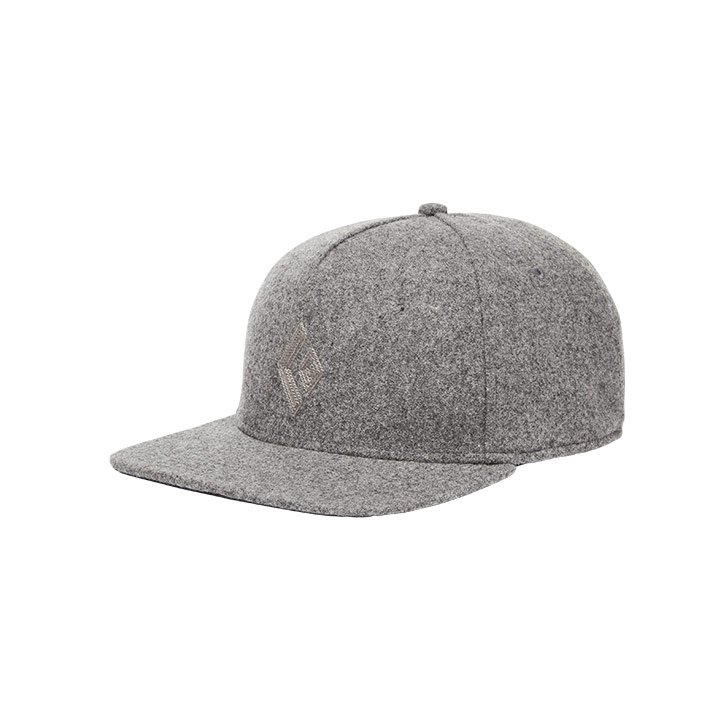 Black Diamond Wool Trucker Hat Ash - monkshop