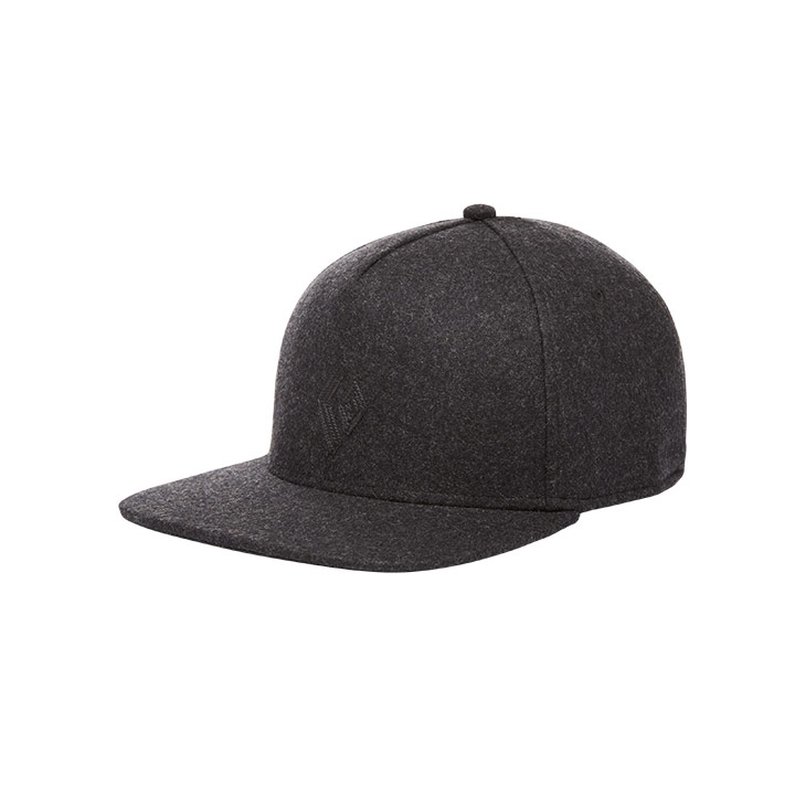 Black Diamond Wool Trucker Hat Smoke - monkshop