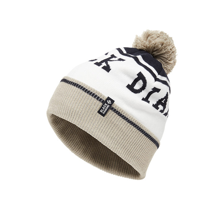 Black Diamond Pom Beanie - monkshop