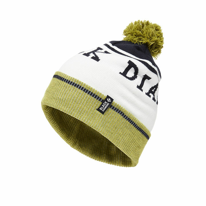Black Diamond Pom Beanie Verde Captain - Monkshop