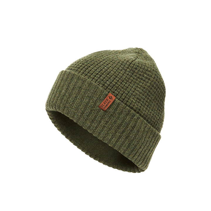 Black Diamond Porter Fork Beanie Forest - monkshop