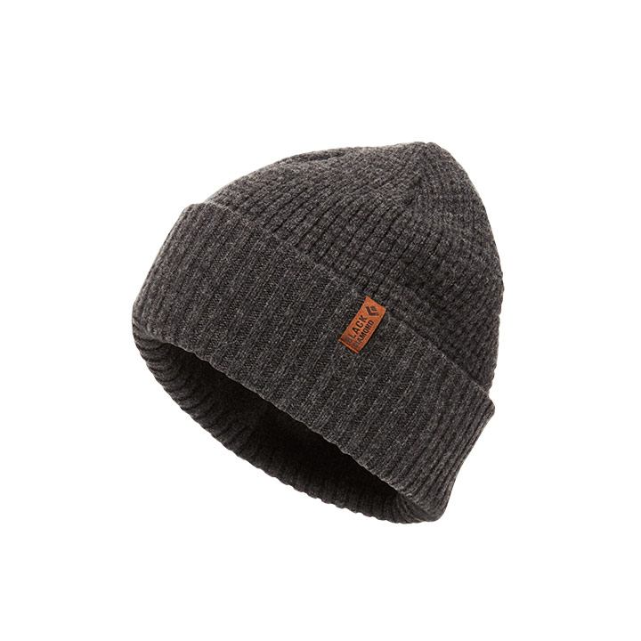 Black Diamond Porter Fork Beanie Slate - monkshop