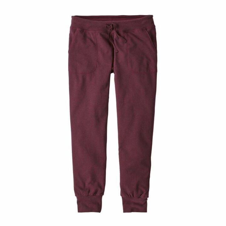 patagonia ahnya pants dark currant - monkshop