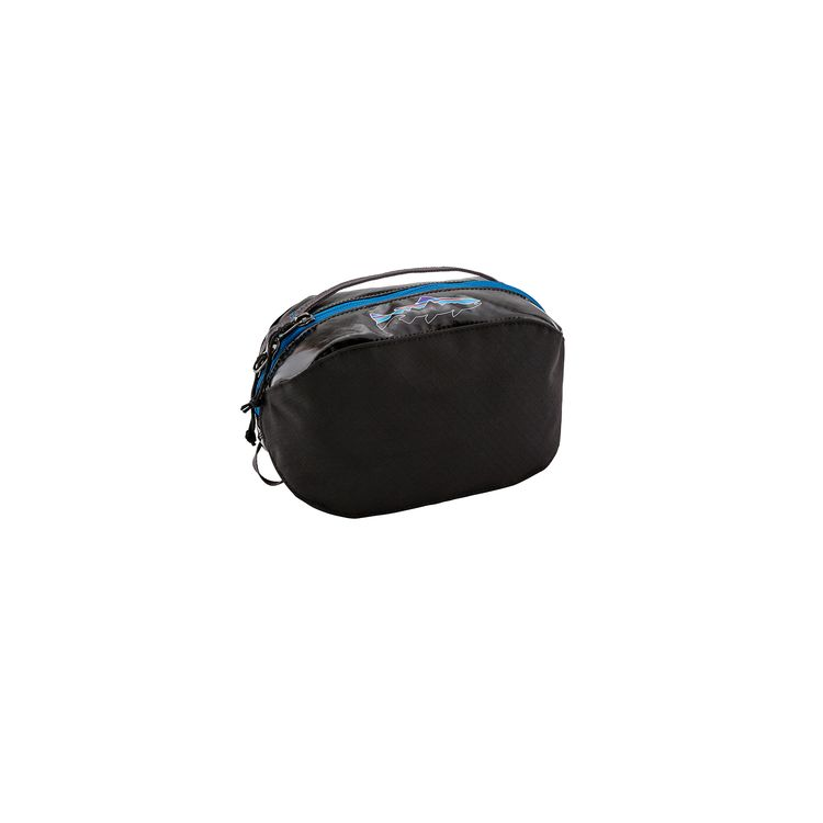 Patagonia Black Hole Cube Small Black With Fitz Roy Trout - monkshop