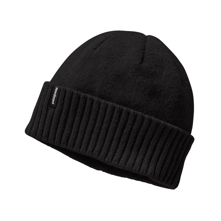 Patagonia Brodeo Beanie Black - monkshop