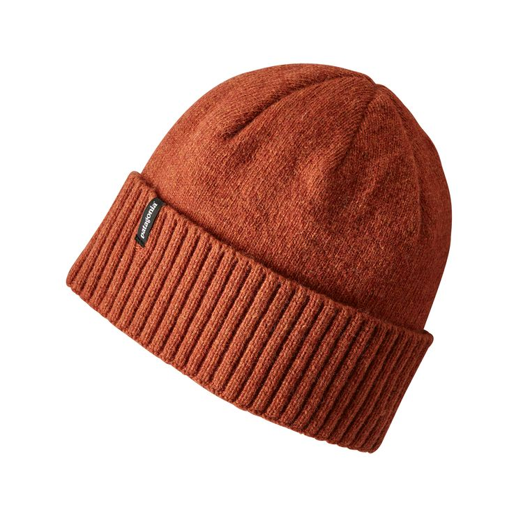 Patagonia Brodeo Beanie Copper Ore - monkshop