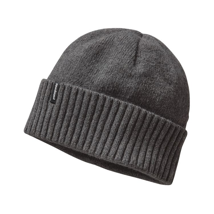 Patagonia Brodeo Beanie Feather Grey - monkshop