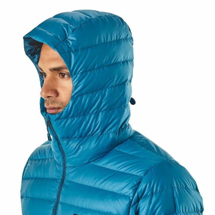 Patagonia Down Sweater Hoody Balkan Blue - monkshop