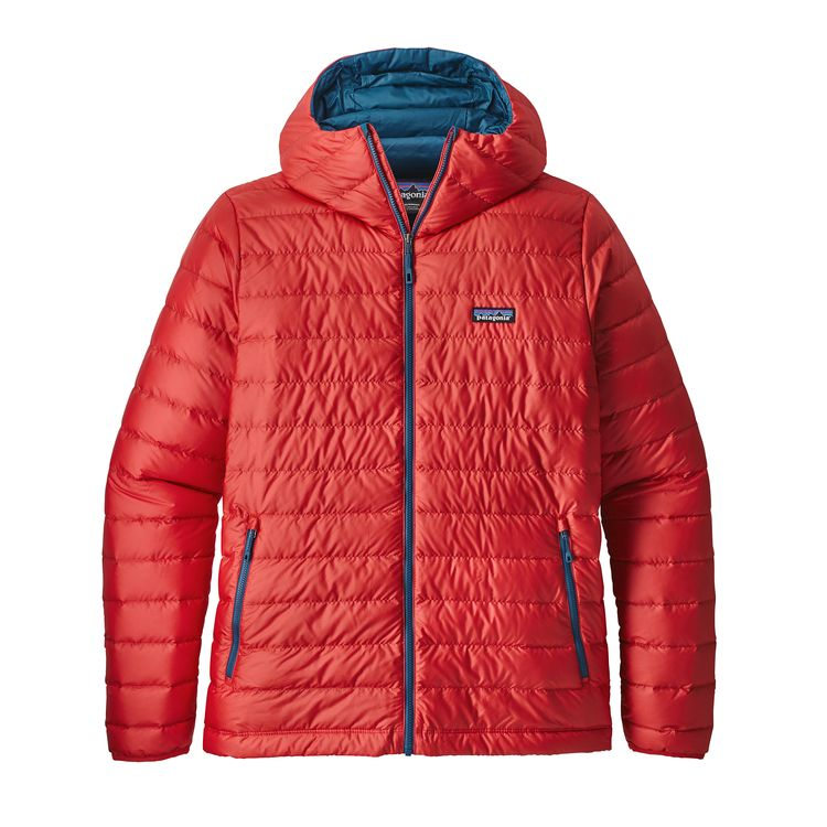 Patagonia Down Sweater Hoody Fire - monkshop